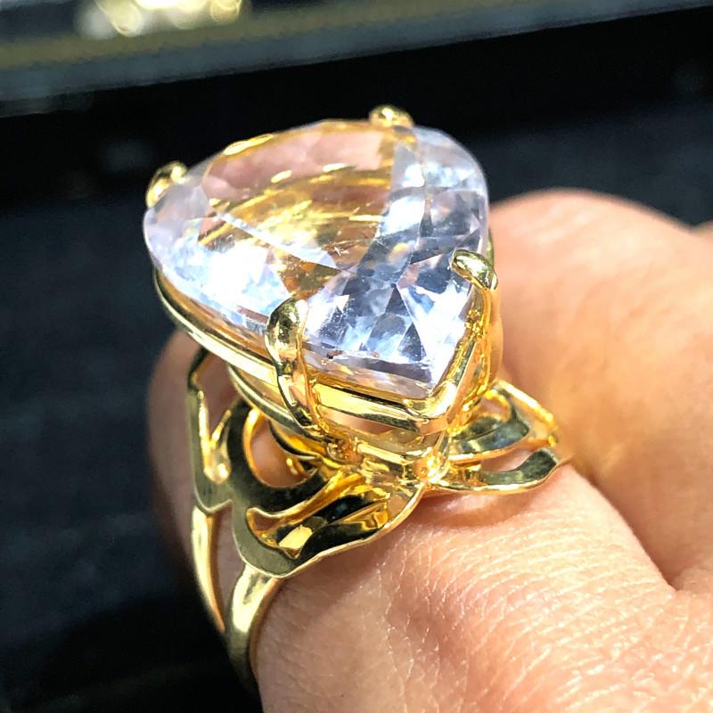 Stunning Fashion Quartz Brazilian ring BR 2451
