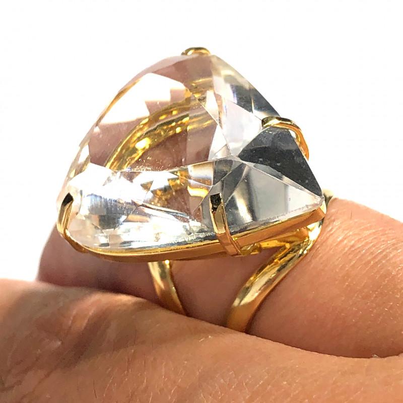 Stunning Fashion Quartz Brazilian ring BR 2452