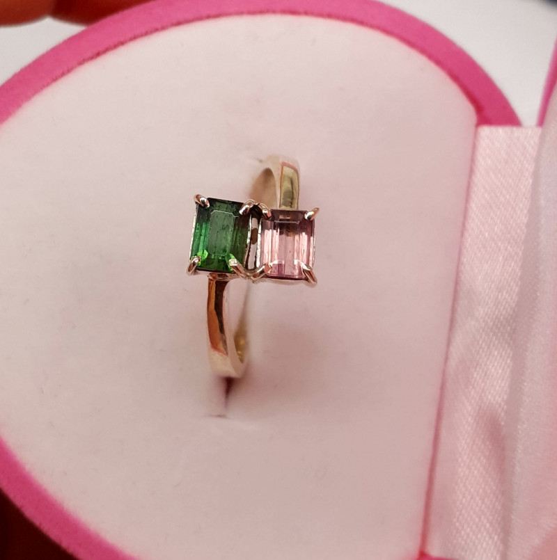 Beautiful Tourmline Ring.