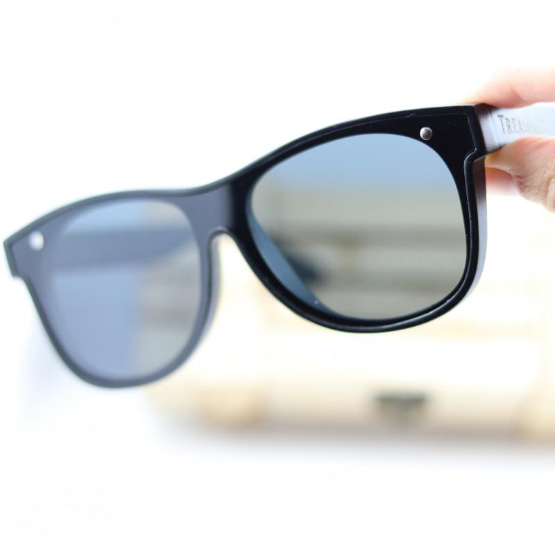 Big Lens Wood Polarized GlassesEyewear - Sunglasses - SUN 05