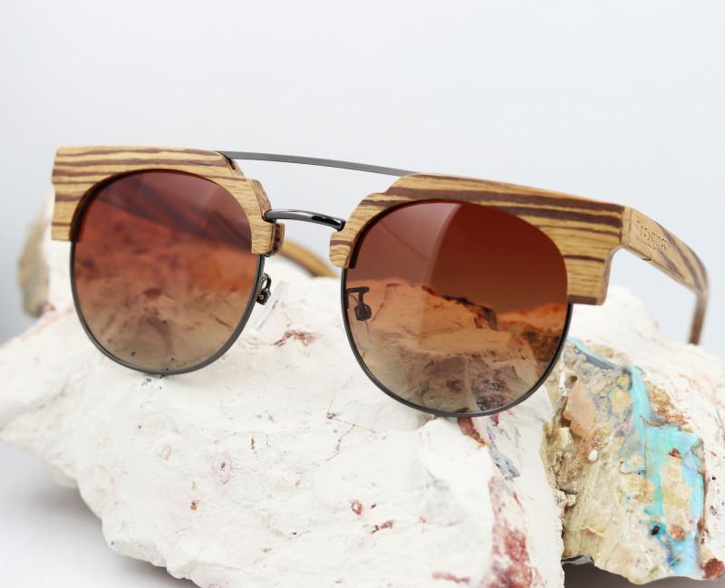 Vintage Glasses in Wooden Eyewear - Sunglasses - SUN 07