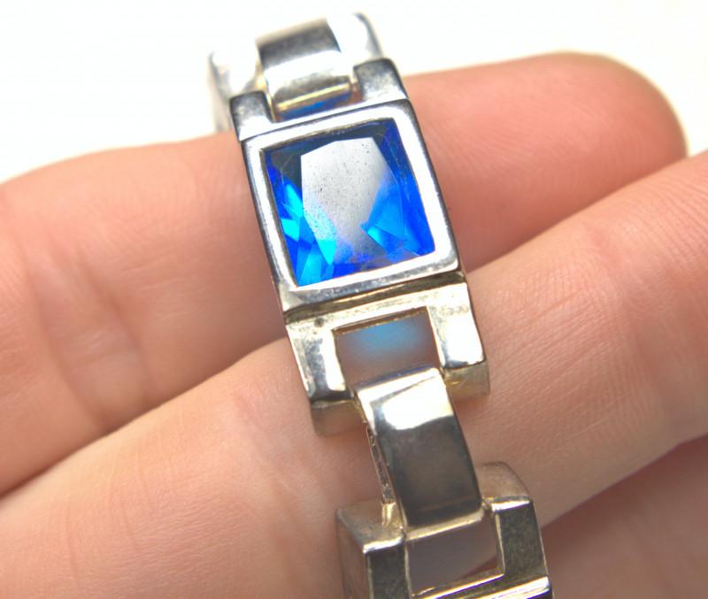 145.5 Tcw. Topaz / Sterling Silver Bracelet -  Gorgeous