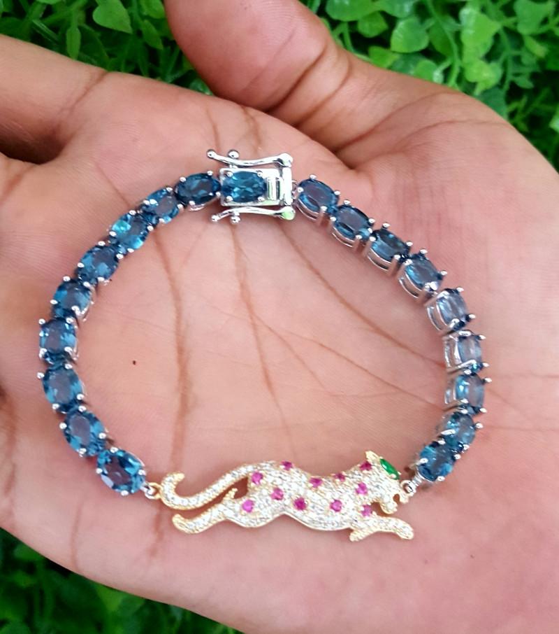 Leopard London Topaz bracelet.