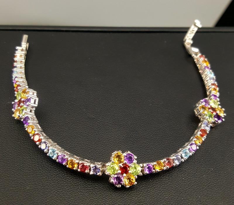 Natural Mix stones Bracelet.