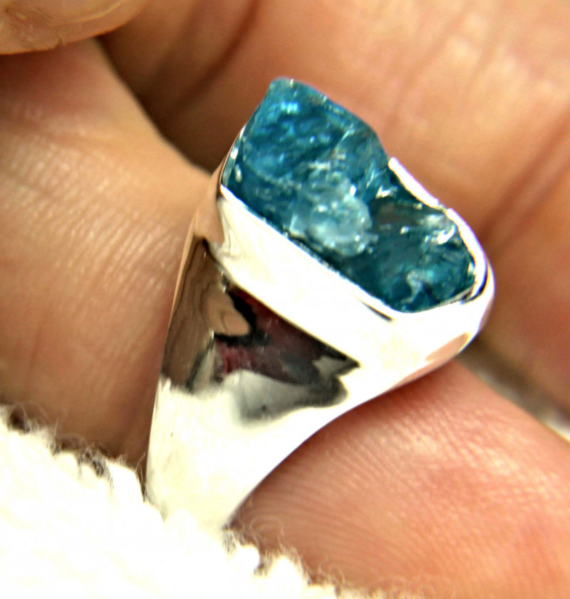 41.12 Tcw. Gold Plated, Sterling Silver, Topaz Ring Size 8 - Gorgeous