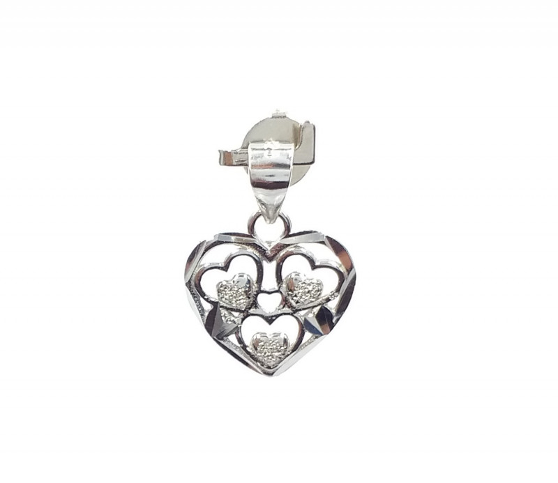 STERLING SILVER PENDENT 925% F 16