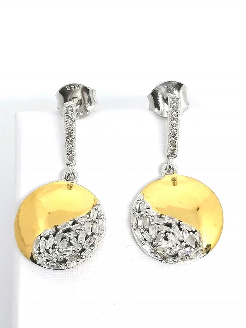 Diamond Drop Earrings 0.33 TCW