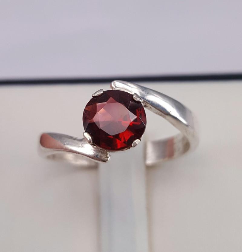 Natural Garnet beautiful Ring