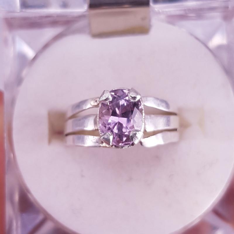 Amazing Kunzite Ring.