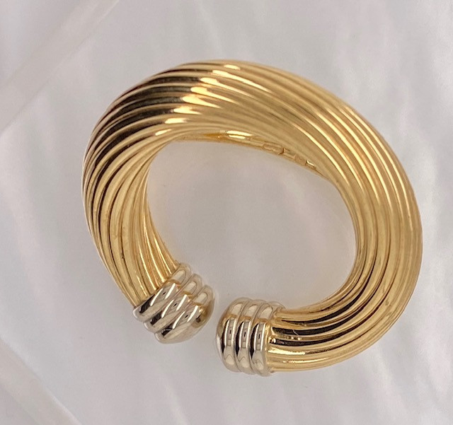 18K GOLD SCARF RING 7.2 GRAMS L631