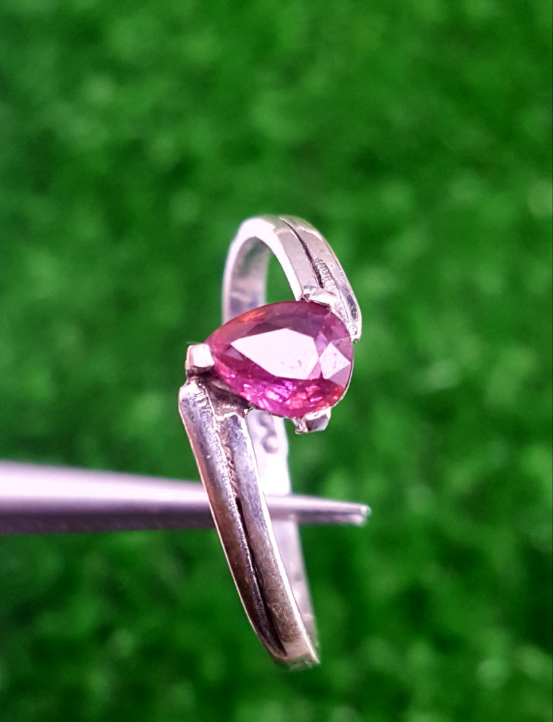 BeatifulnNatural Tourmaline Ring.