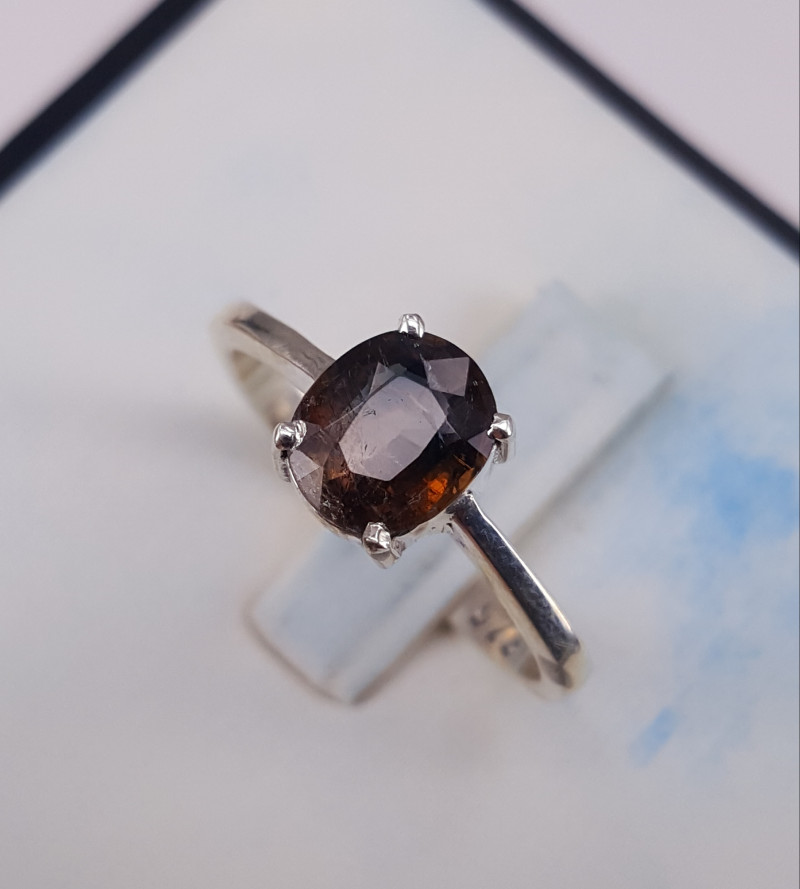 Natural Axenite Ring.