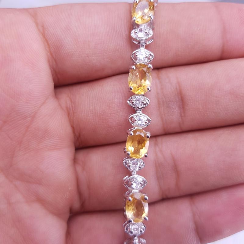 Amazing Style Citrine Bracelet.