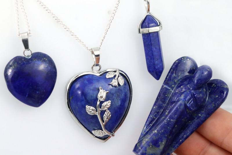 4 pc promotional Royalty Lapis Lazuli jewellery set NA  659