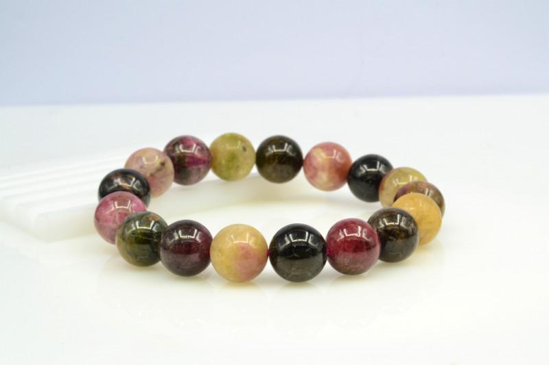 Natural Tourmaline 232.55 Cts Bracelet, Top Quality
