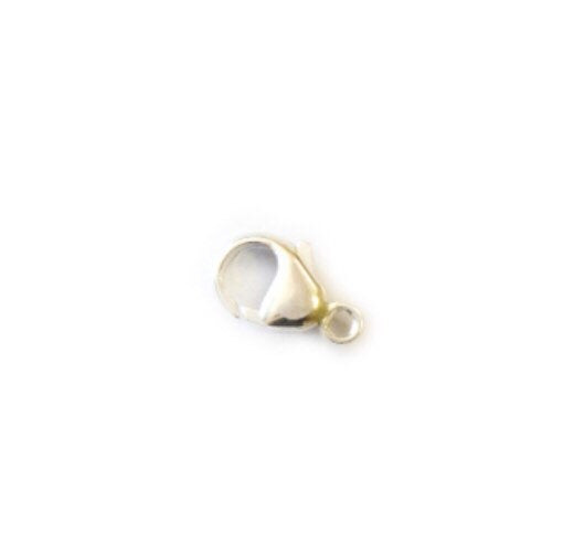 Oval Trigger Clasps - 925 Nickel Free Tarnish Resistant Stirling Silver