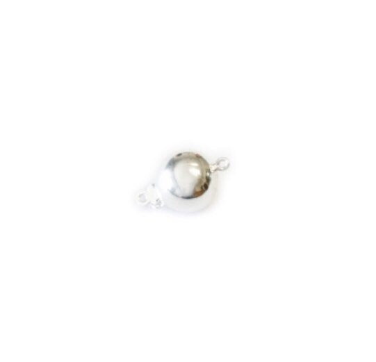 Ball/Oval/Ribbed Oval Pearl Clasp | 9ct Gold | Nickel Free Stirling 925 Sil