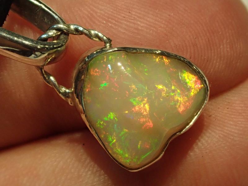 16.29ct Blazing Welo Solid Opal Pendant