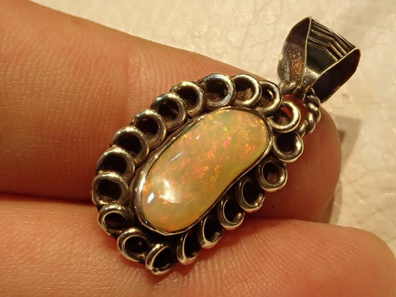 Coming Soon Blazing Welo Solid Opal Pendant