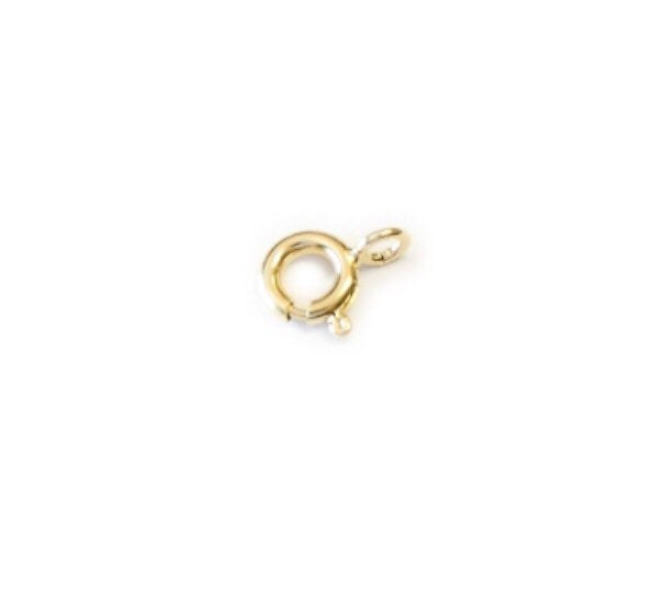 Jewelry Bolt Clasp Rings   Nickel Free Silver   Yellow White Gold