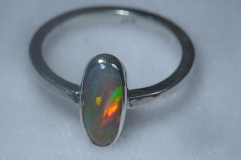 Coming Soon Do Not Bid Blazing Welo Solid Opal Ring