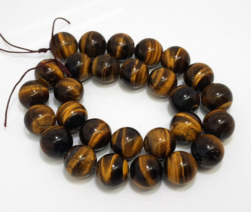 Natural Tiger Eye Beads 538.00 Carats