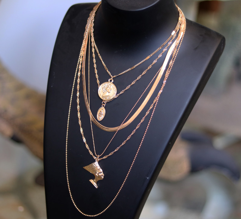 Bohemia Lightweight Gold necklace CCC 177