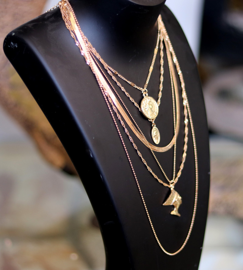 Bohemia Lightweight Gold necklace CCC 178