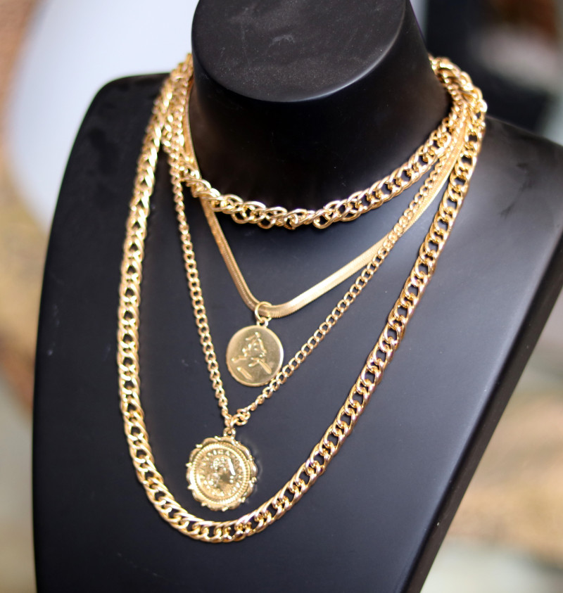 Bohemia Lightweight Gold necklace CCC 180