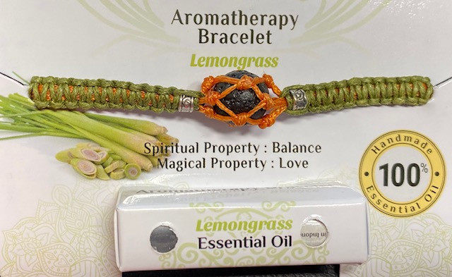 Aromatherapy Bracelet, LemonGrass  code BRAROMA