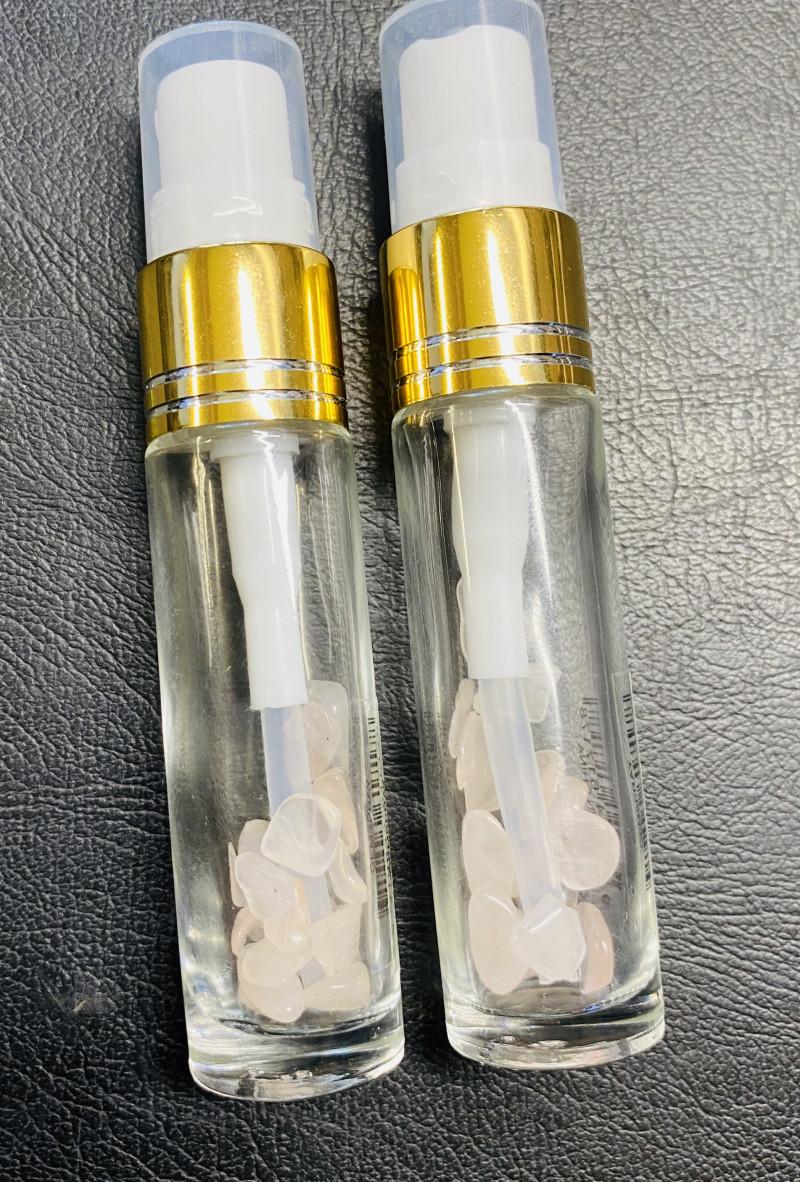 TWO Rose Quartz Gemstone Wellness Fragrant Spray Code GEMSPRAY