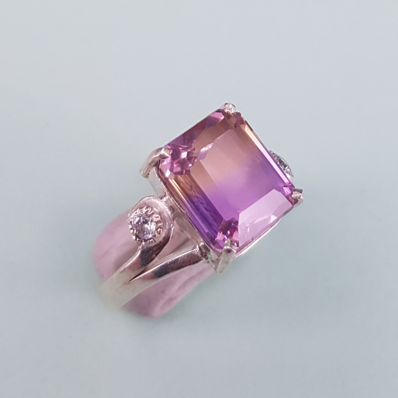 Hand Made Ametrine Ring