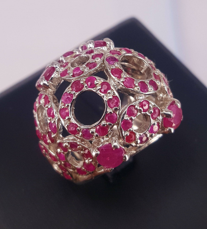Amazing Natural Ruby Ring.