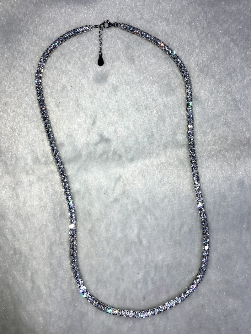 Silver Chain 925 A truly Sparking Design 18.9g