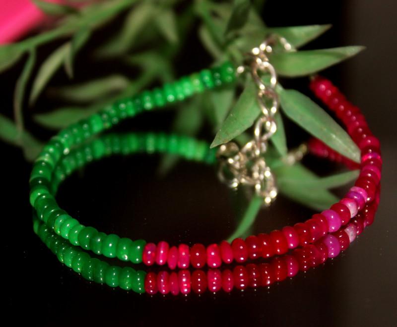 17 Crts Natural Ethiopian Welo Multi Color Opal Bracelet 308