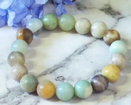 Natural Gemstone Bead Bracelets