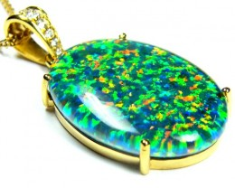 FASHION OPAL PENDANT  MYJA 989