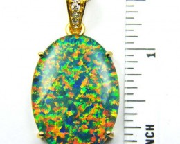 FASHION OPAL PENDANT  MYJA 990