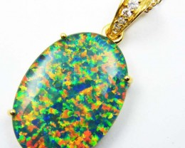 FASHION OPAL PENDANT  MYJA 992