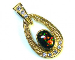 BRIGHT OPAL FASHION  PENDANT    ML556
