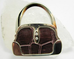 BROWN HUES    WELL MADE CUTE HANDBAG HOLDER QT 560