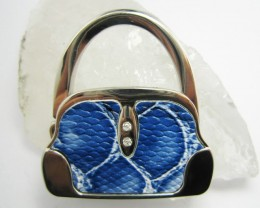 BLUE HUES   WELL MADE CUTE HANDBAG HOLDER QT 561