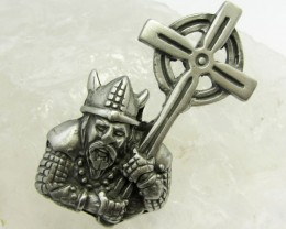 FREE SHIPPING QUALITY MADE PEWTER PENDANT  QT 580