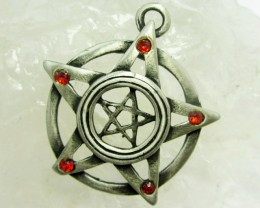 FREE SHIPPING QUALITY MADE PEWTER PENDANT  QT 590