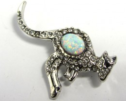 STYLISH OPAL  BROOCH CSS 219