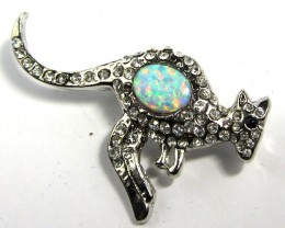 STYLISH OPAL  BROOCH CSS 220