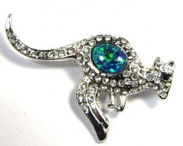 STYLISH OPAL  BROOCH CSS 221
