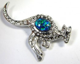 STYLISH OPAL  BROOCH CSS 222