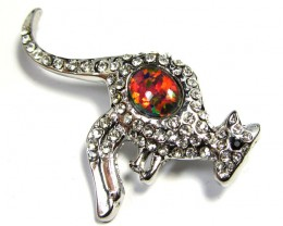 STYLISH OPAL  BROOCH CSS 226