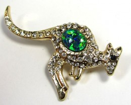 STYLISH OPAL  BROOCH CSS 228